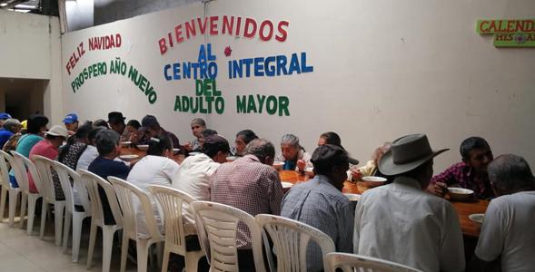 OBJETIVO DEL GOBIERNO MEJORAR LA ATENCIÓN A NUESTROS ADULTOS MAYORES.