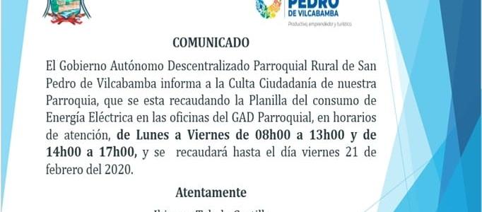 EL GAD PARROQUIA INFORMA